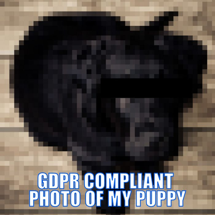 Meme: The GDPR – first transspecies regulation ;)